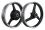 3 SPOKE MIO WIDE  SILVER 14X1.85 - 2.15